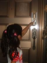 指紋認証ドアロック