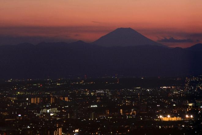 富士夜景2