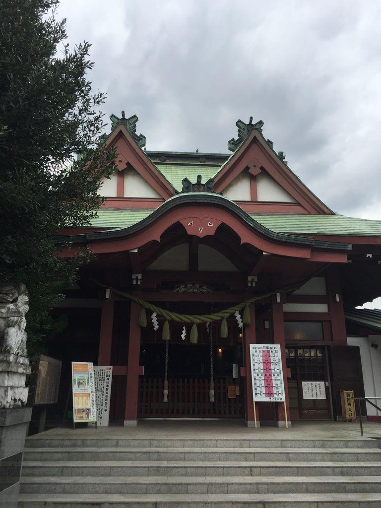 156.八幡八雲神社(東京都八王子市) : 神社と寺と交通安全ステッカー
