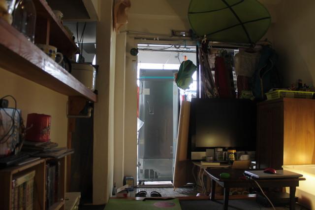 夢の大型冷蔵庫!力を振り絞って...