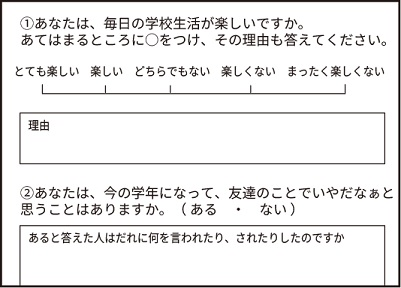20160224学校生活アンケート1