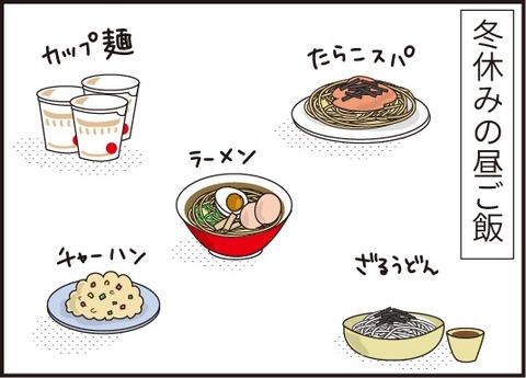 20190113冬休みの昼ご飯1