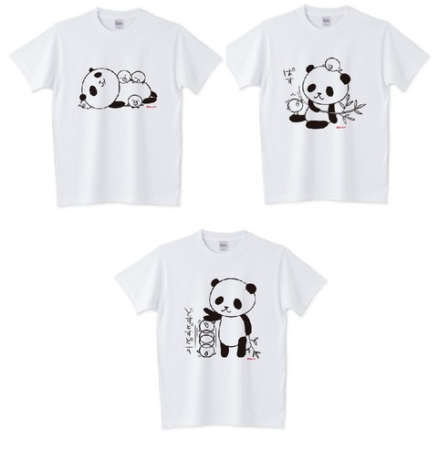 Tシャツパンダ4