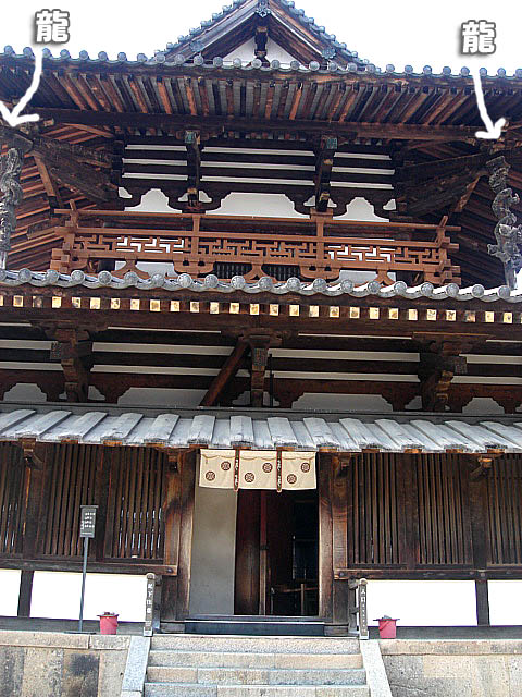 法隆寺 金堂2