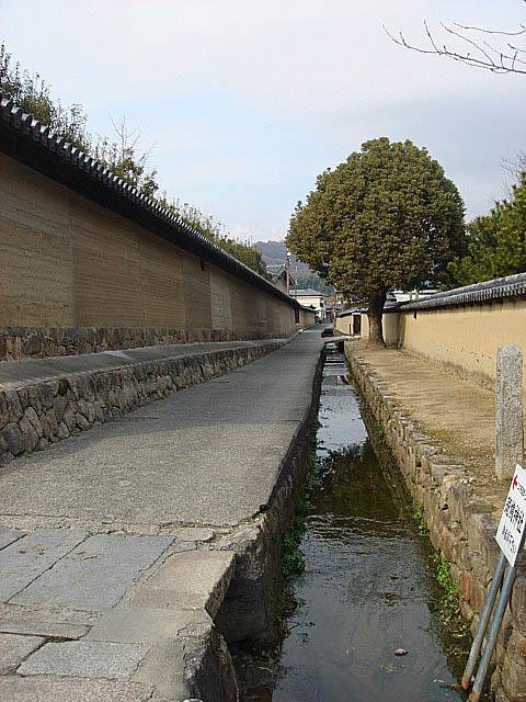 法隆寺 疎水