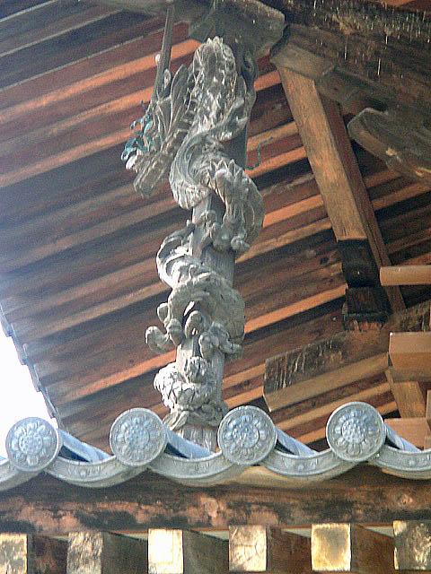 法隆寺 金堂の龍