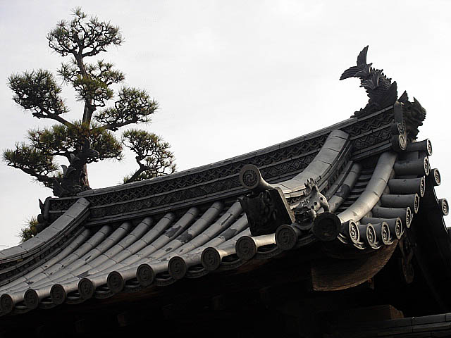 法隆寺 屋根