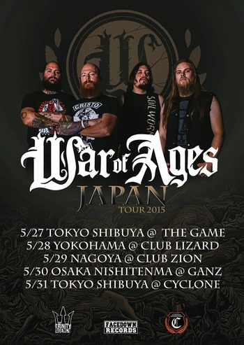 war of ages japan tour 2015