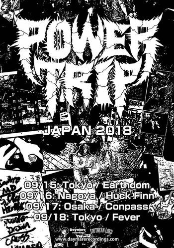 power trip japan tour 2018