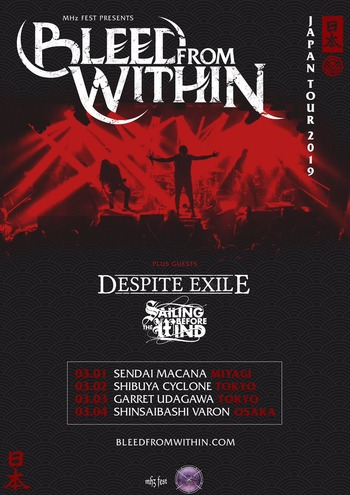 bleed from within japan tour 2019