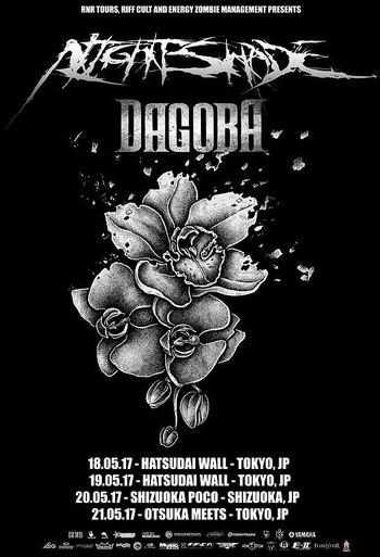 dagoba nightshade japan tour 2017