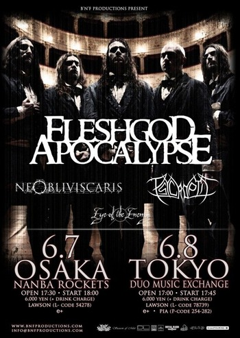 psycroptic japan tour 2015