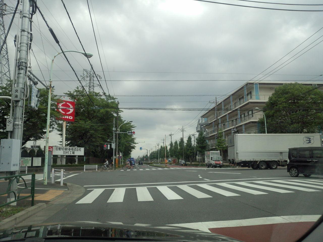 都道249号福生青梅線(西多摩産業道路)ドライブレポート 福生市、羽村 ...