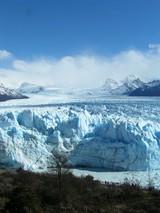 氷河の奥行き