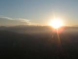 ラパスの朝日