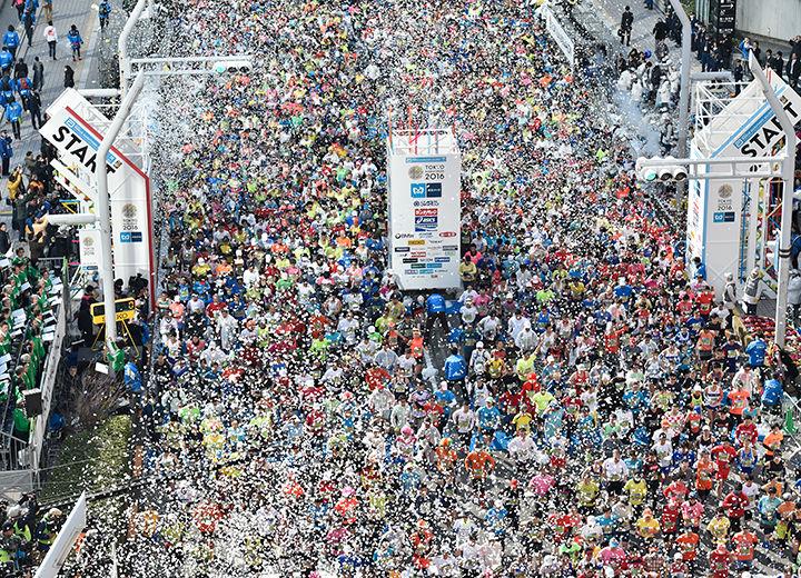 『東京マラソン2017!本日開催‼︎』についてTwitterの反応