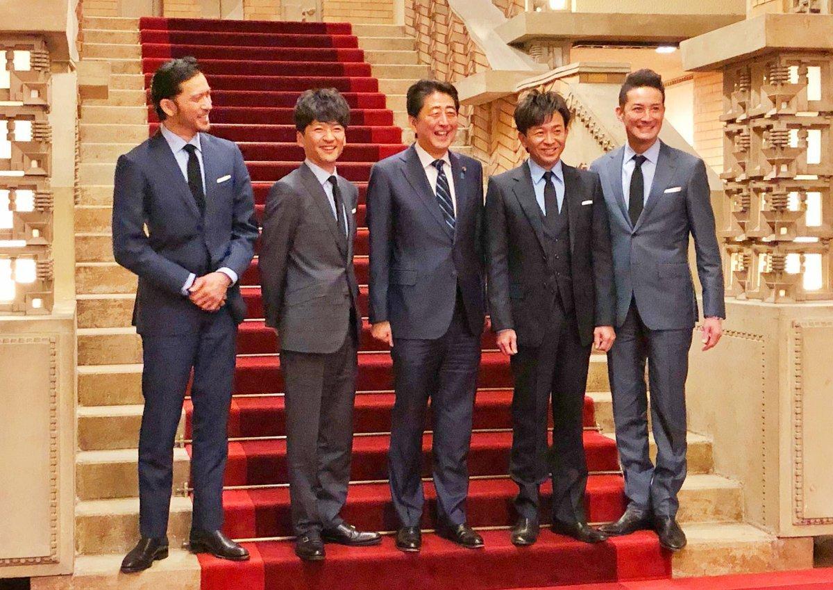 -2chまとめ-【芸能】<安倍首相>アイドルグループ「TOKIO」のメンバー4人と東京都内のピザ店で会食
