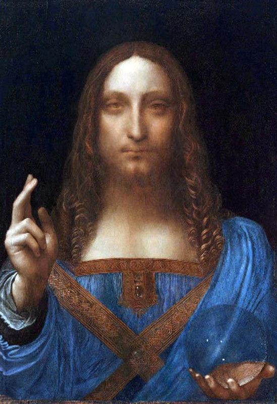 『ダビンチの絵画が510億円で落札⁈1500年頃に描かれた絵画で「サルバトール・ムンディ」というキリストが描かれている絵⁉︎芸術作品として史上最高値‼︎』