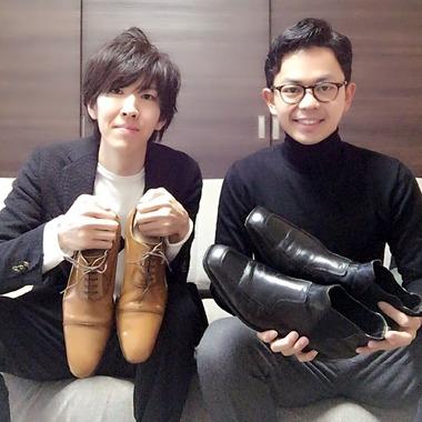 無料で靴磨きをする変態現る。