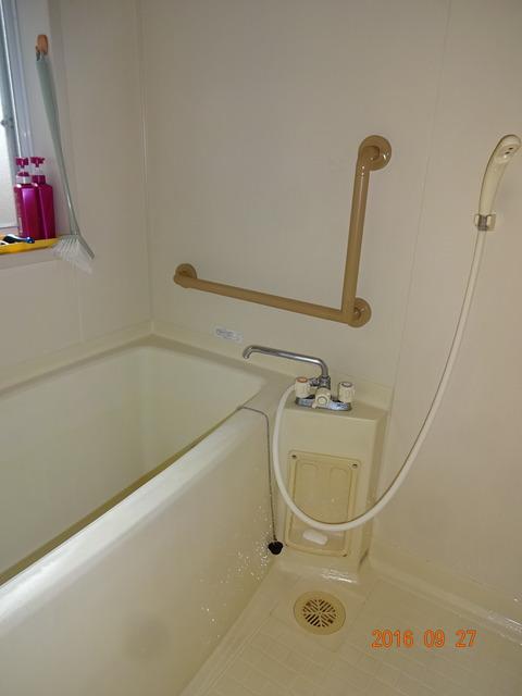 ③浴室手すり取付け2