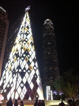お助け支店 香港クリスマス2010 IFCとクリスマスツリー