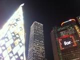 お助け支店 香港クリスマス2010 HSBC本店とクリスマスツリー