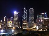 お助け支店 香港クリスマス2010 セントラル夜景