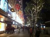 お助け支店 香港クリスマス2010 プリンスビル前