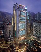 香港HSBCお助け支店 HSBC香港本店夜景