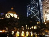 お助け支店 香港クリスマス2010 HSBC本店前