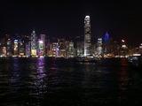 お助け支店 香港クリスマス2010 香港島夜景
