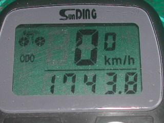 odo1743km