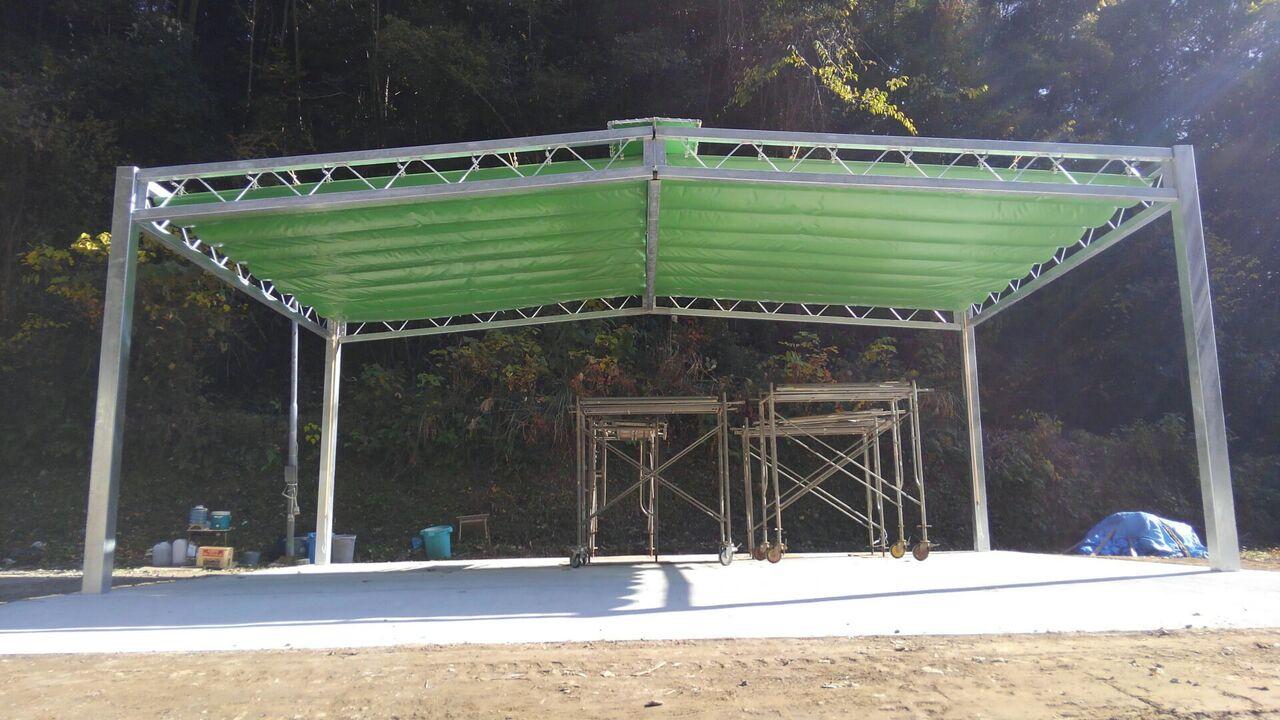 開閉式テント3