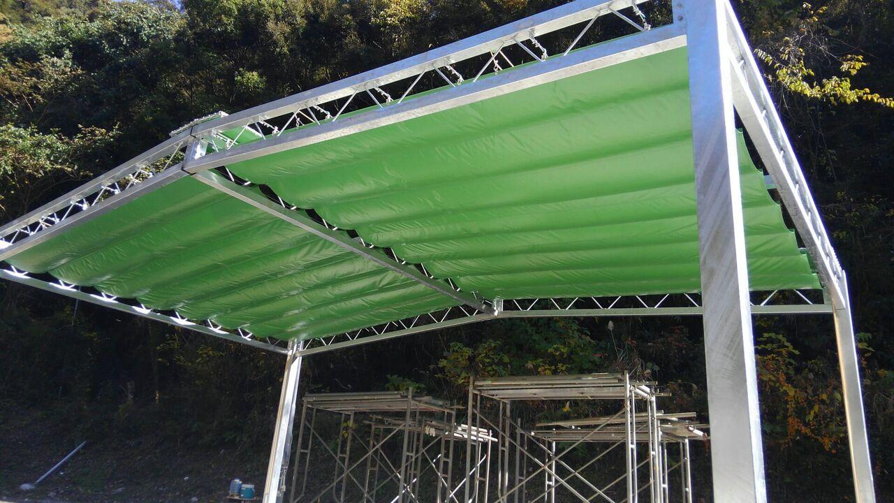 開閉式テント2