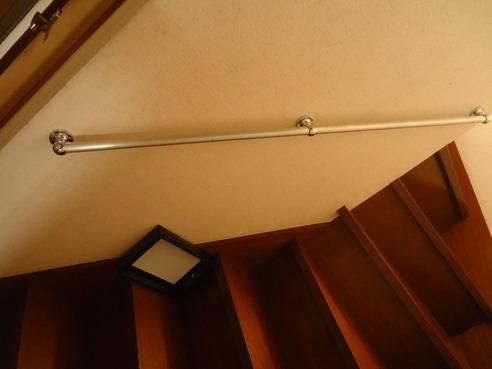1階の階段手すり