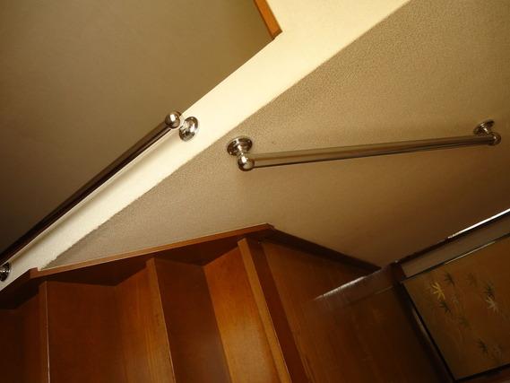 2階階段手すり