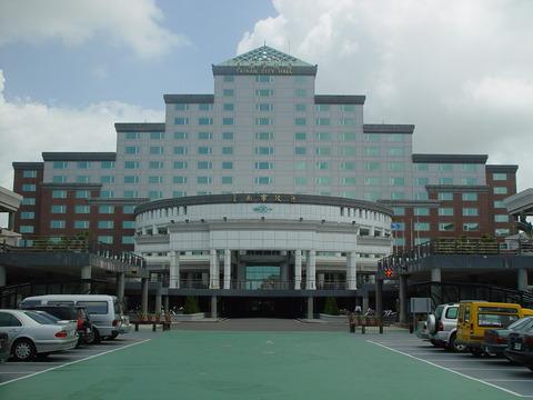 台南市政府前景