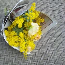 mimozaブーケ
