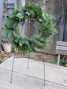 クリスマスリース2012オレゴンモミ 052