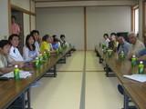 ボランティアと藤野町民の交流会