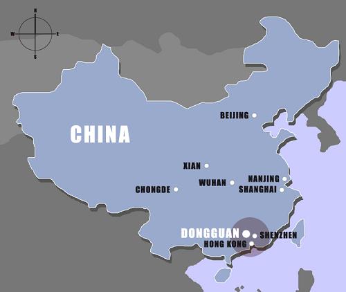 dongguan_map