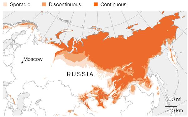 永久凍土溶解によるロシアの損害 : ロシア・ウクライナ・ベラルーシ ...