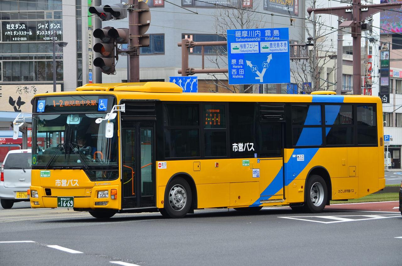 KL-MP35JM   鹿児島市営バス 新車 コメント
