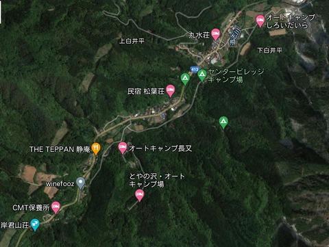 道志川沿いキャンプ場 久良岐のよし