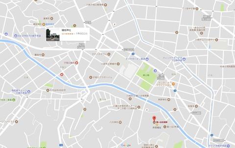 橘樹神社と蟹ヶ谷古墳群の位置関係 久良岐のよし