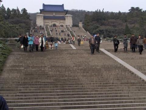 中国南京市紫禁山中山陵 久良岐のよし