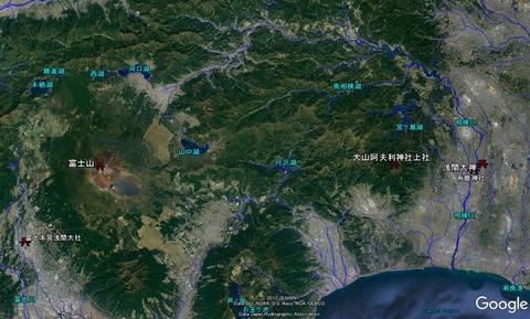 海老名市今泉浅間大神は大山と富士山の遥拝所② 久良岐のよし