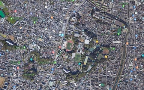 日吉Googlemap 久良岐のよし