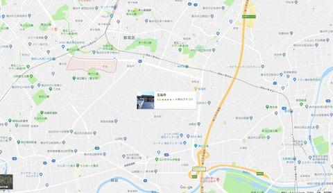 長福寺と平台 久良岐のよし