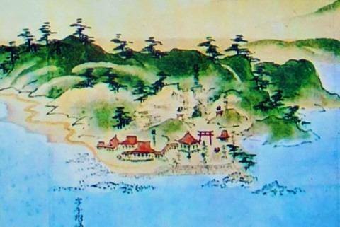 観音寺絵図